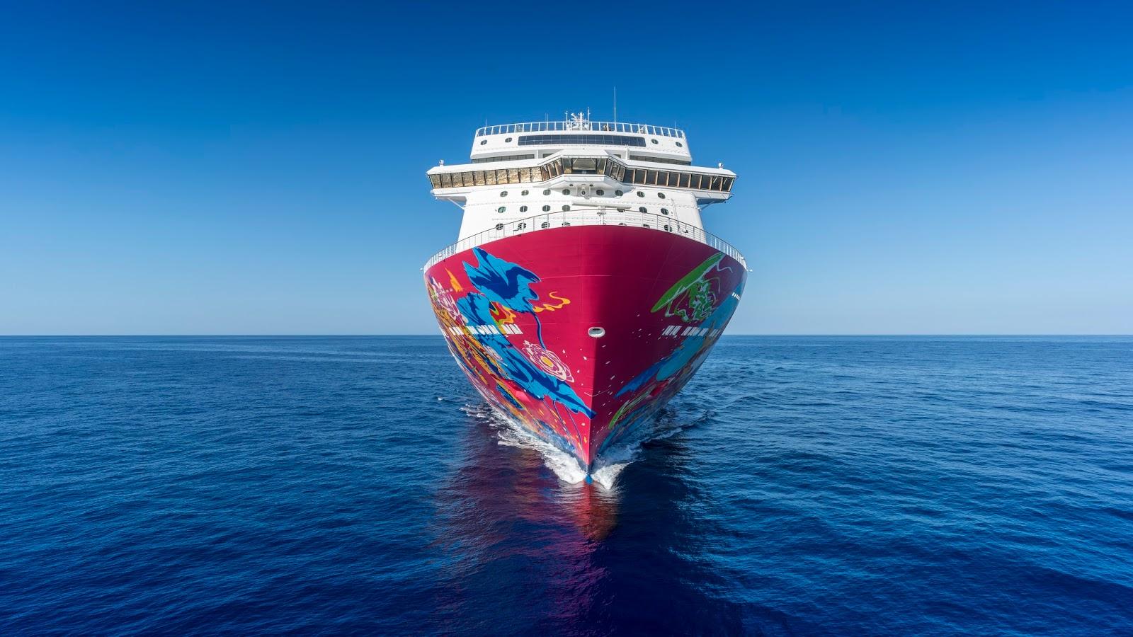 Shaun Owyeong Arrival Of The DREAM CRUISES - The dream cruise ship
