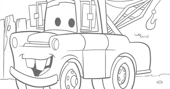 cars toons coloring pages - photo#4