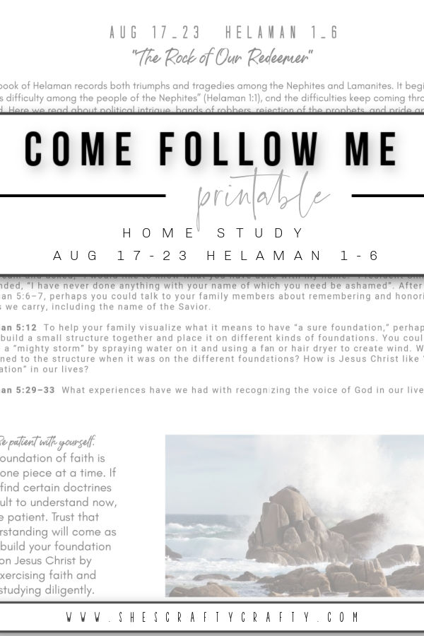 Come Follow Me Free Printable