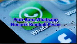 Hapus Pesan Terkirim Aplikasi Whatsapp