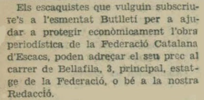 Recorte de L'Opinió, 18/4/1934