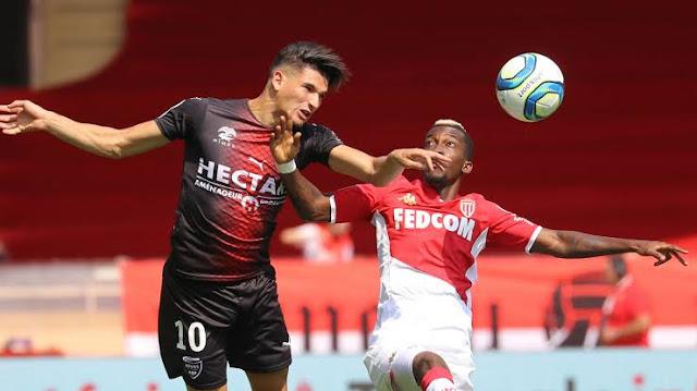 Monaco's coach hails Henry Onyekuru