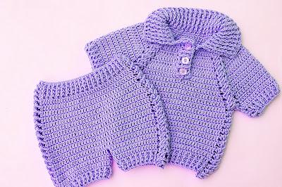 4 - Crochet IMAGEN pantalon a juego con jersey a crochet muy facil y rapido MAJOVEL CROCHET