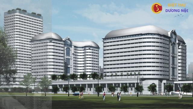 Tổ hợp nhà ở và căn hộ khách sạn Dương Nội