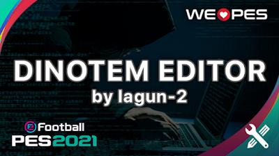 DinoTem Editor v20 by lagun-2 | PES 2020 & PES 2021