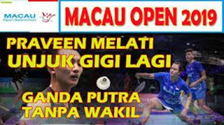 Macau Open 2019