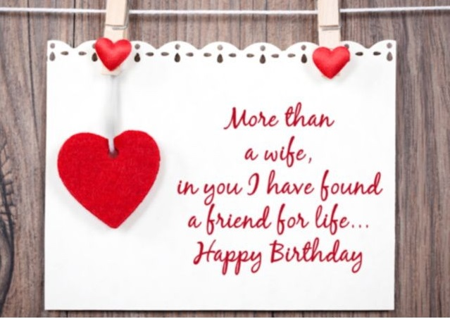 happy birthday wishes images for beautiful wife