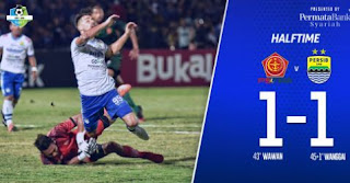 HT: PS Tira vs Persib Bandung 1-1 Highlights