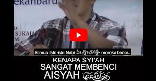 Ngaji Sunnah: Syiah Sangat Benci Aisyah [Video]