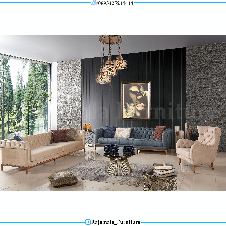 Furniture Jepara Sofa Tamu Minimalis Luxury Furniture Indonesia RM-0152