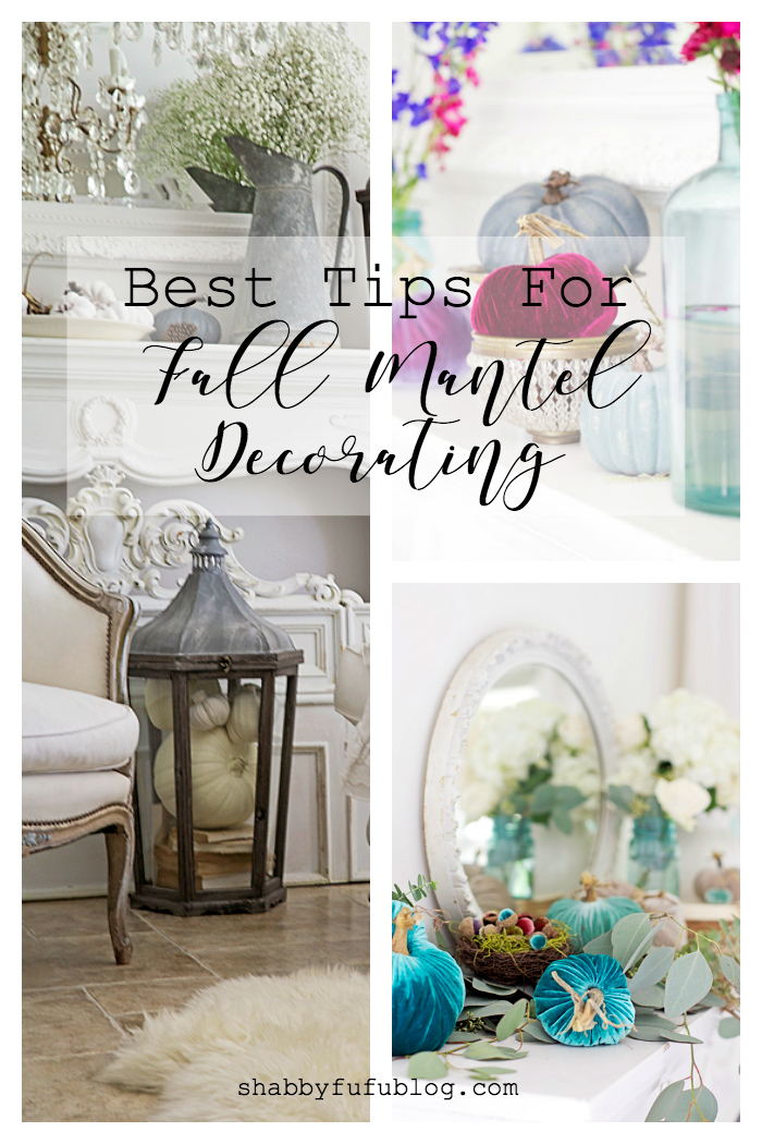 best fall mantel decorating ideas shabbyfufu
