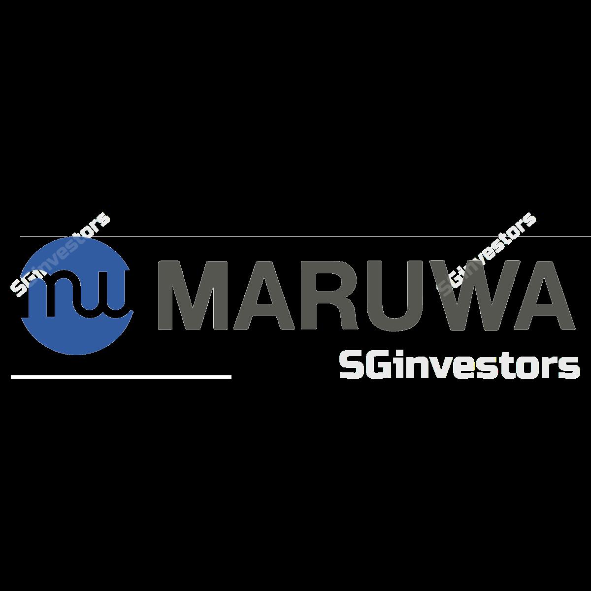 MARUWA CO. LTD (SGX:M12) @ SGinvestors.io