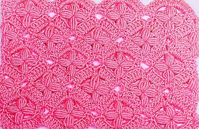 3 - IMAGEN Puntada de flores a crochet y ganchillo. Fácil y sencillo. MAJOVEL CROCHET
