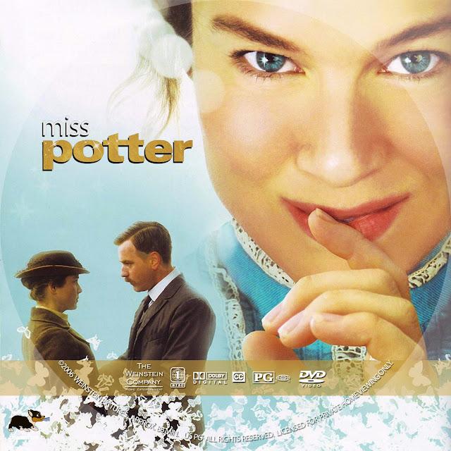 Miss Potter DVD Label