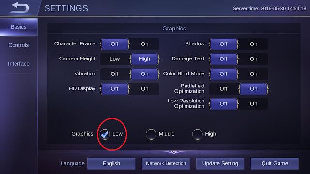 cara mengatasi lag mobile legends di ram 2gb ke bawah