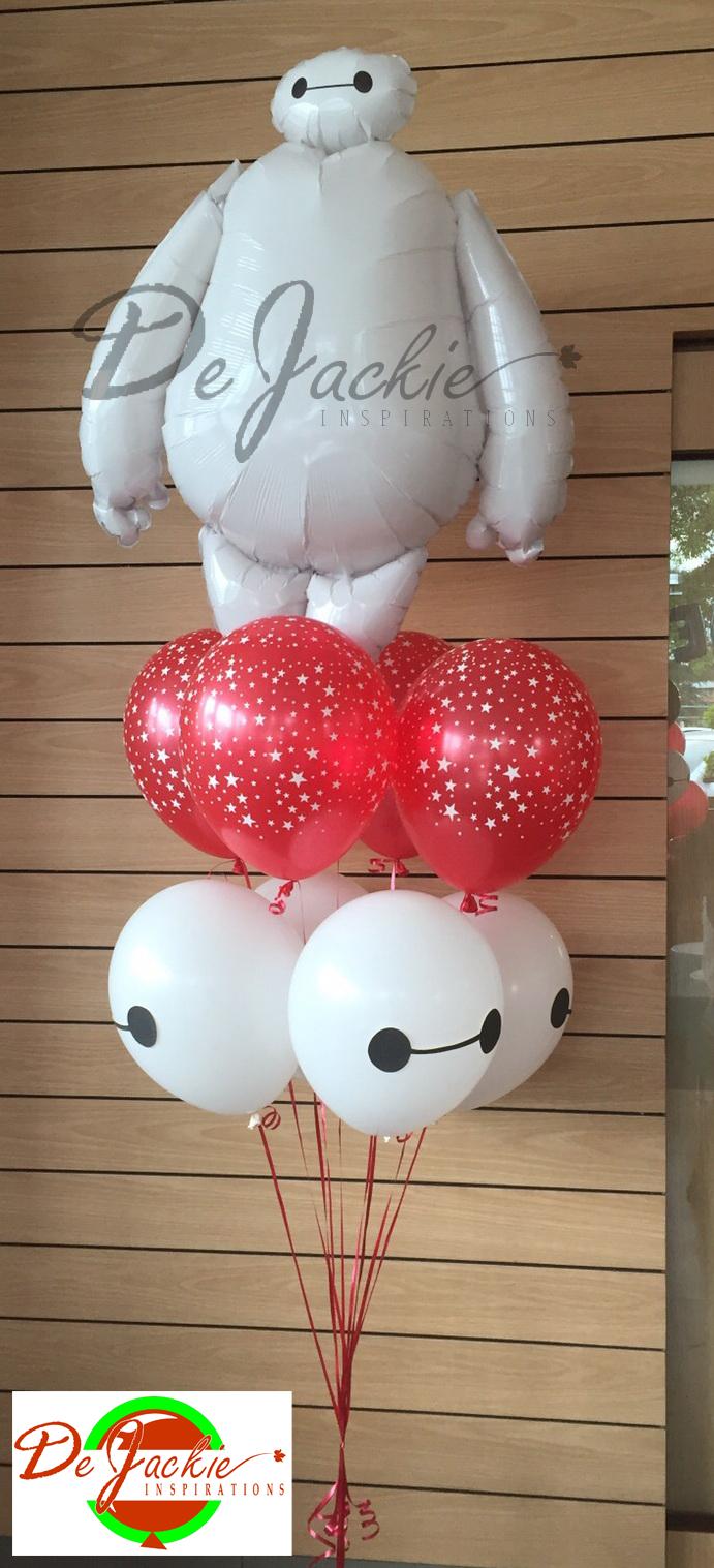 Big Hero 6 Theme Balloon Decoration