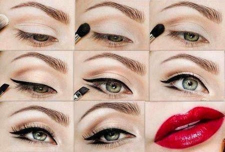Glamourous and class makeup