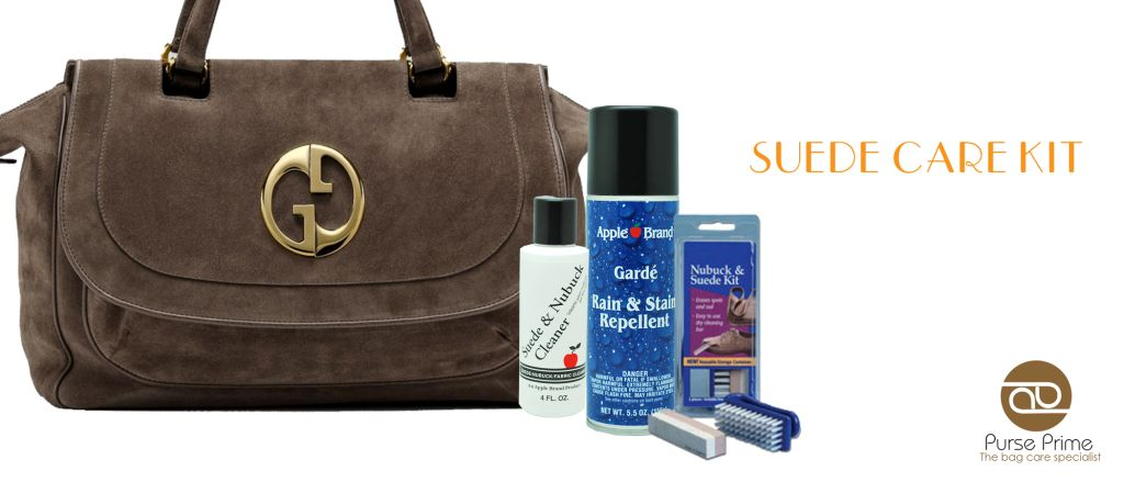 Get A Suede Care Kit Now To Bring The Beauty Back Your Handbag