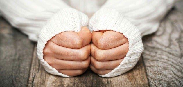 حماية الجسم من البرد