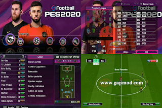 Download PES 2020 PPSSPP Chelito V8 Update Transfer