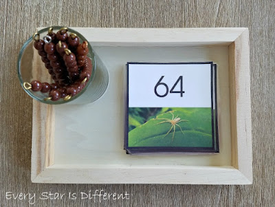 Spider Skip Counting by 8s Activity