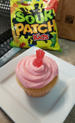 Cupcake-with-candy-on-top
