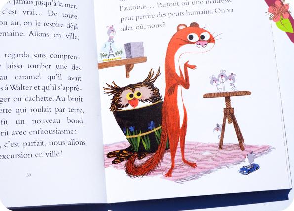 L'école des souris - Par ici la sortie ! Agnès Mathieu-Daudé et Marc Boutavant - Ecole des loisirs