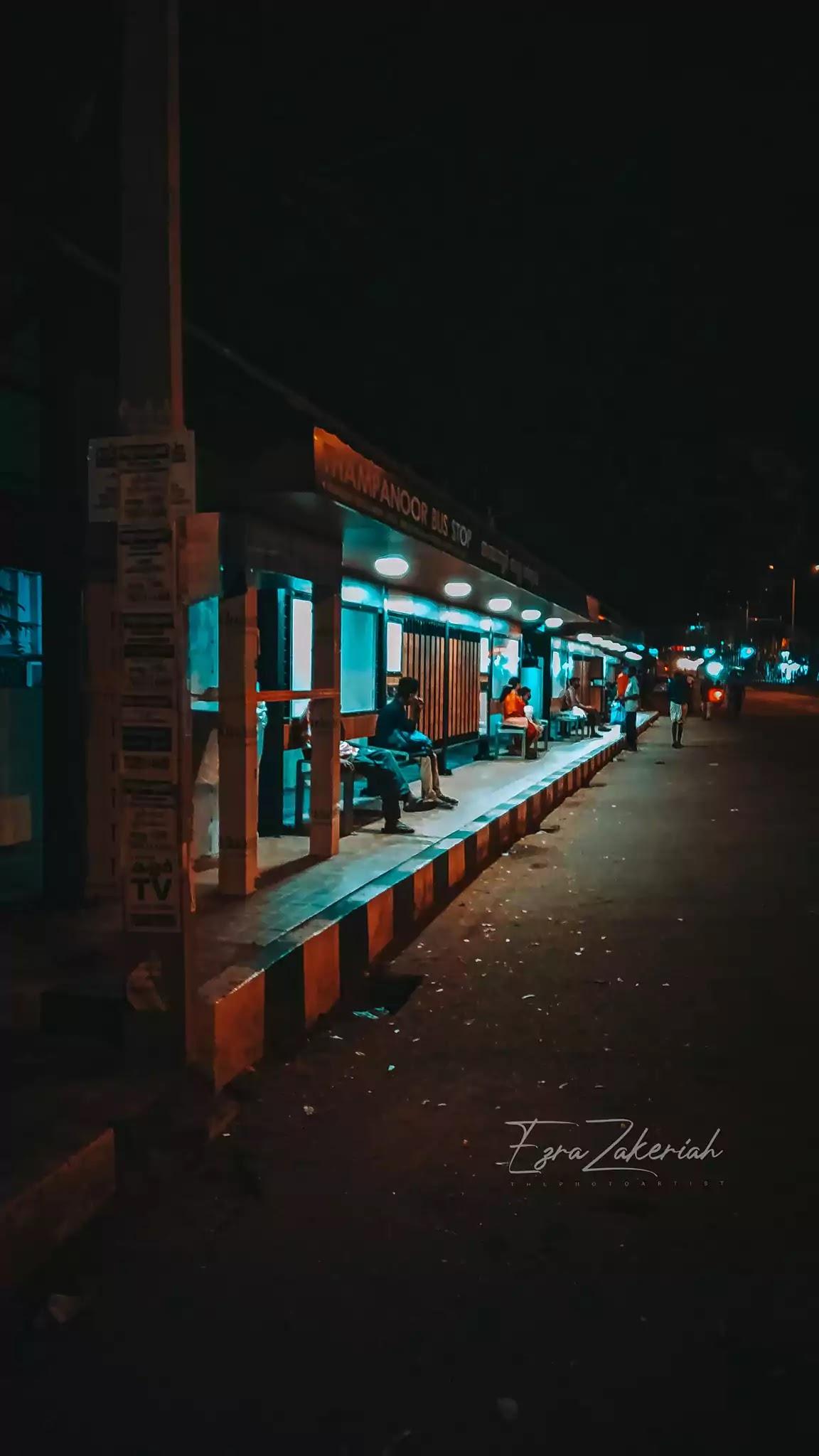 Thampanoor Bus Stop Trivandrum