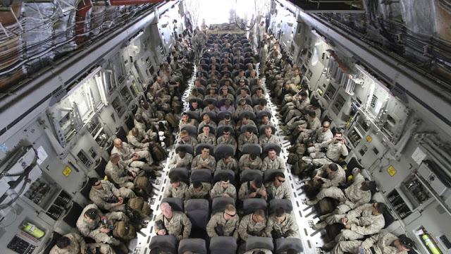 El Pentágono anuncia el despliegue de un millar más de soldados en Oriente Medio