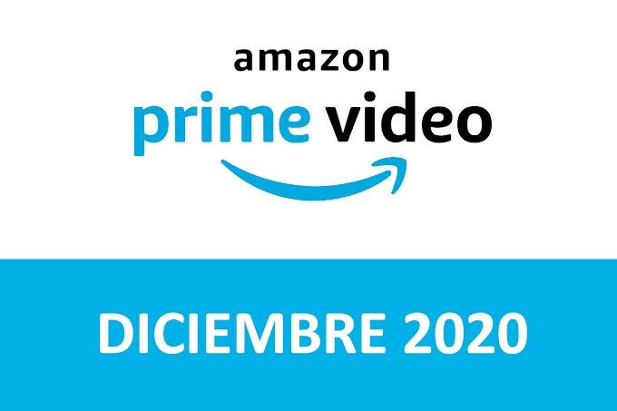 Novedades y Estrenos de Prime Video España Diciembre 2020