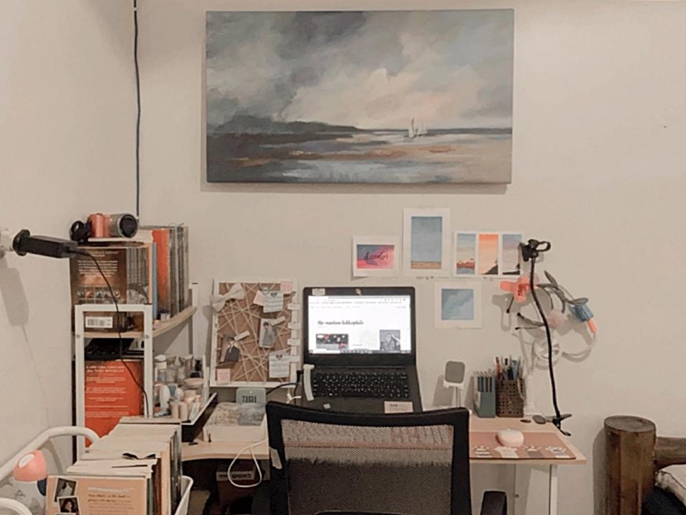 My Work Space | Renee Alexis