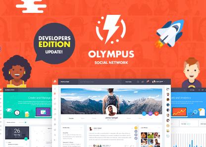 Free Download Olympus - HTML Social Network Toolkit Themeplatinum