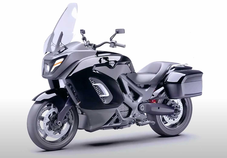 Росссийский электромотоцикл Aurus