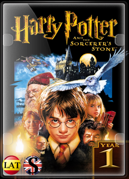 Harry Potter y la Piedra Filosofal (2001) Extended FULL HD 1080P LATINO/INGLES