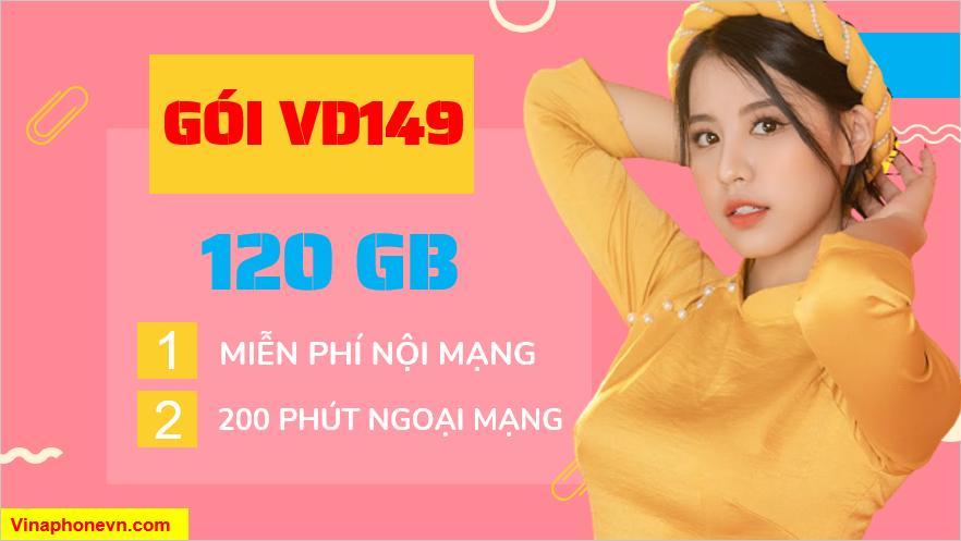 Gói VD149 của Vinaphone