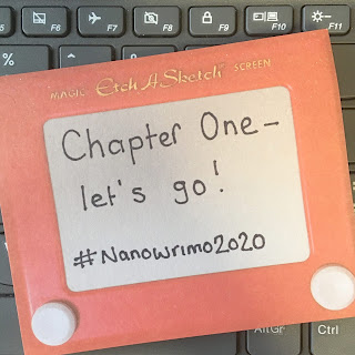 #Nanowrimo2020 Chapter One - Let's Go!
