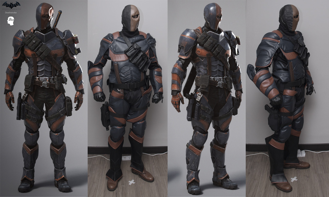 Dali lomo for Deathstroke armor template
