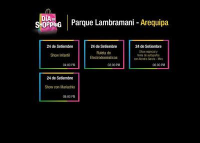 Día del Shopping Arequipa