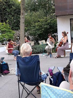 The Corran Quartet live in Islington