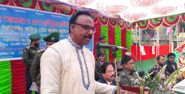 কুড়িগ্রামে ভিডিপি'র জেলা সমাবেশ ২০১৮ অনুষ্ঠিত
