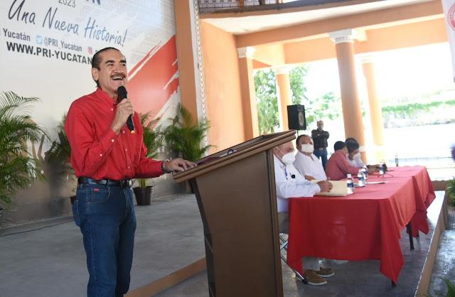 Designan al tabasqueño Pedro Gutiérrez como delegado del PRI en Yucatán