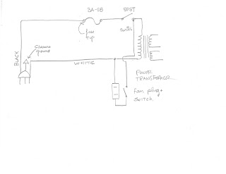 Judybox Revival: Mesa Boogie Mark II power supply wiring.