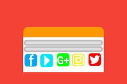 Cara menerapkan sosial icon responsive dan keren terbaru