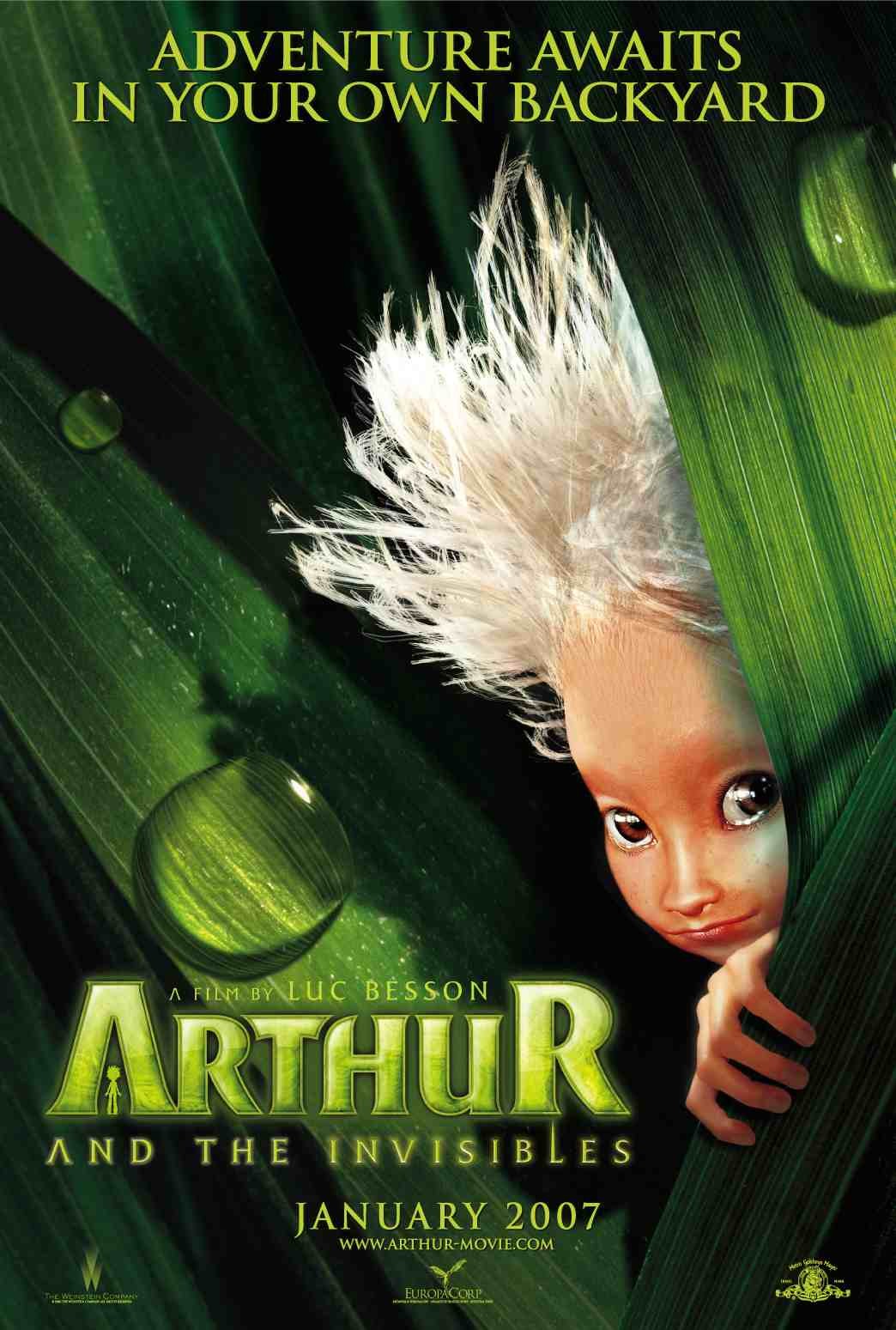Arthur and the Invisibles (2006) ταινιες online seires xrysoi greek subs