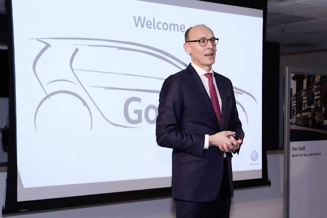 VW Golf Mk8: produção começa em junho de 2019