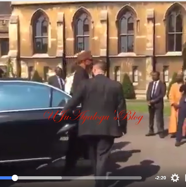 WATCH VIDEO..President Muhammadu Buhari 14th May, 2017 (Sunday) visited his best friend, Archbishop of Canterbury, Justin Welby at the Lambert Palace in London, the United Kingdom..Photos