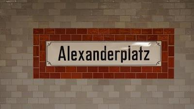 Placa de Metro en Alexanderplatz