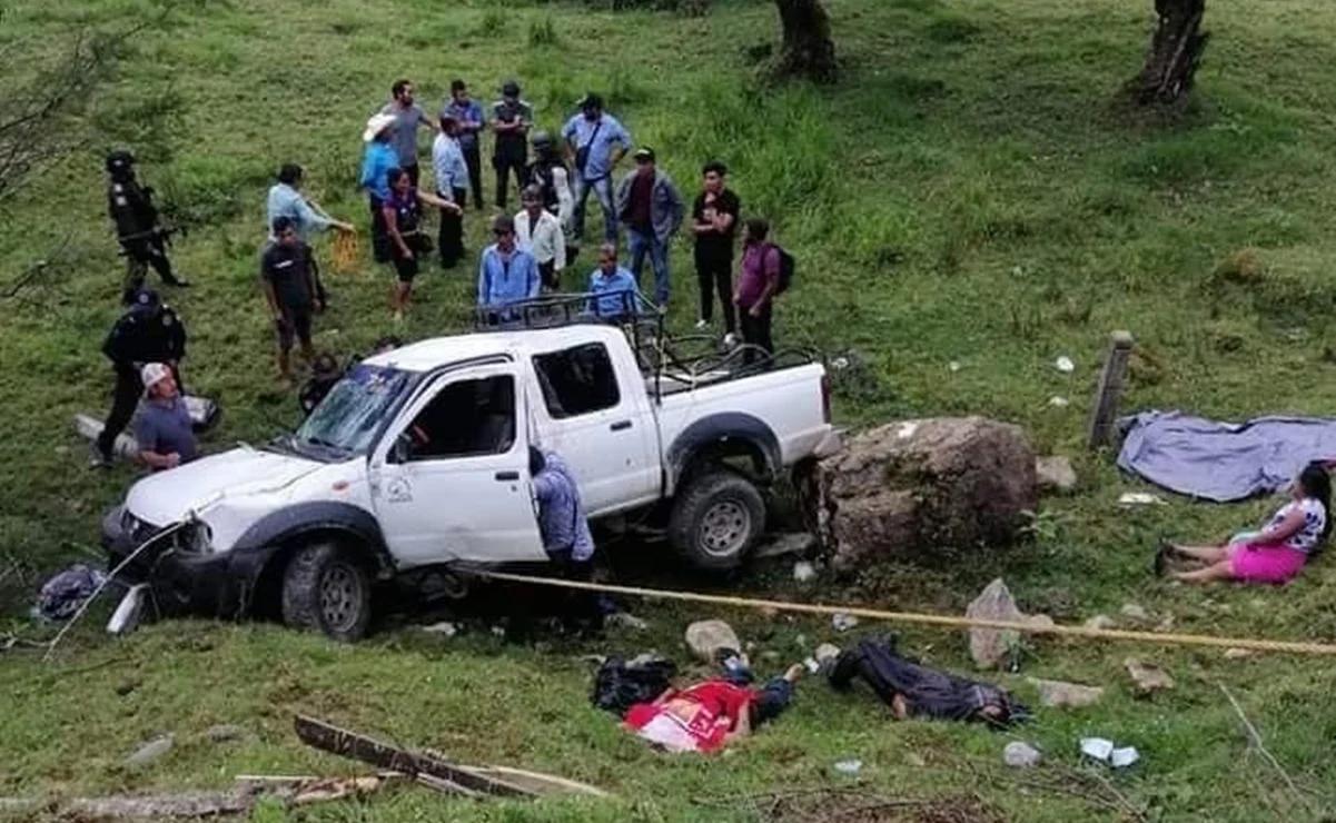 Fotos: Emboscan y ejecutan a 5 indígenas Tzotziles que llevaban boletas electorales en Pueblo Nuevo; Chiapas