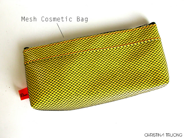 Quo Summer Brush Set Review Haul Mesh Cosmetic Bag
