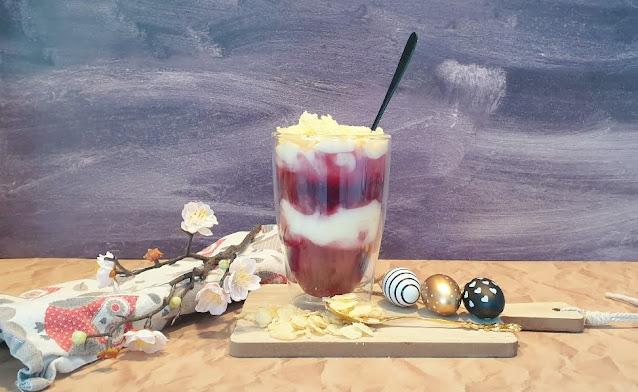Rezept für ein leckeren Nachtisch im Glas - fraukskleinewelt.blogspot.com
